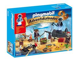 PLAYMOBIL® Adventskalender Geheimnisvolle Piratenschatzinsel