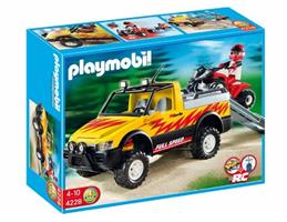 PLAYMOBIL® 4228 - Pick-Up mi Racing Quad
